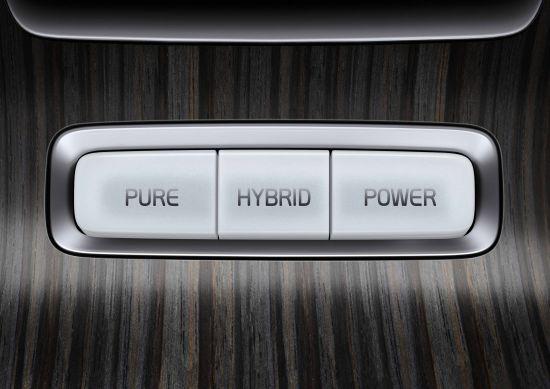 图为柴油混合动力车沃尔沃V60