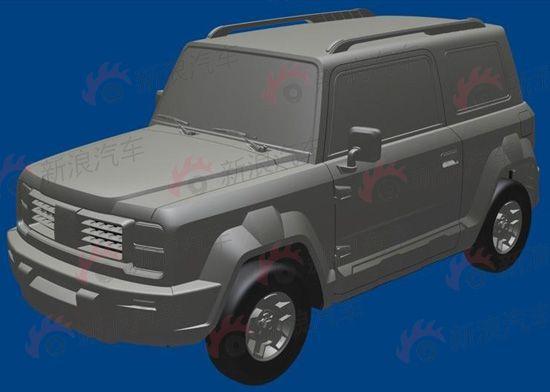 吉利小型越野SUV全球鹰GX5将推出