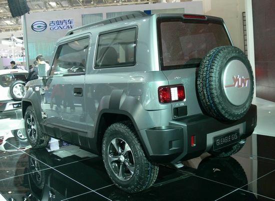 吉利版吉姆尼 小型越野SUV全球鹰GX5将推出高清图片