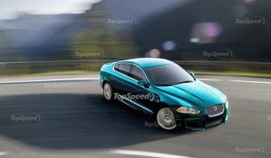 2012新款捷豹XF或将亮相洛杉矶车展