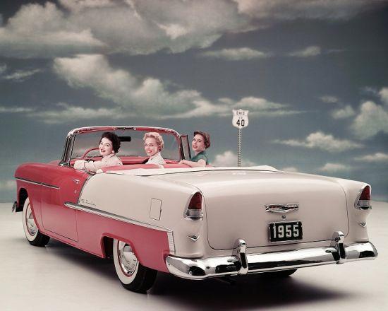 1955款雪佛兰BelAir