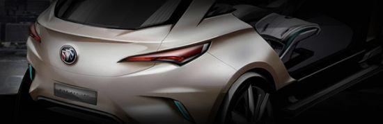 别克首款SUV概念车Buick Envision设计草图