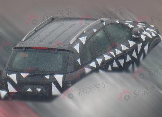 上海通用新一代国产科帕奇路试谍照