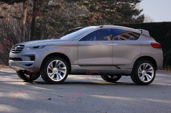 一汽奔腾SUV概念车