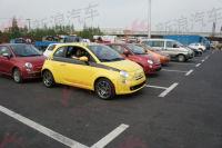 2011年上海车展探馆:意式经典菲亚特500