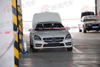 2011上海车展探馆:奔驰全新SLK抢先实拍