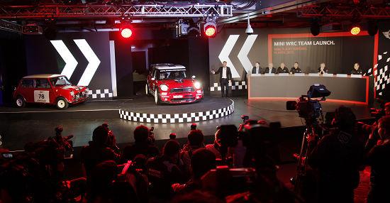 传奇回归:MINI WRC车队在英国牛津正式亮相
