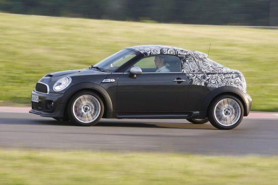 宝马发布MINI Cooper Coupe测试照 提供四款动力