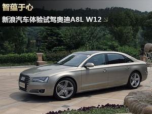 新浪汽车图解奥迪A8L W12