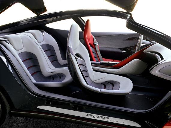 福特Evos概念车内饰