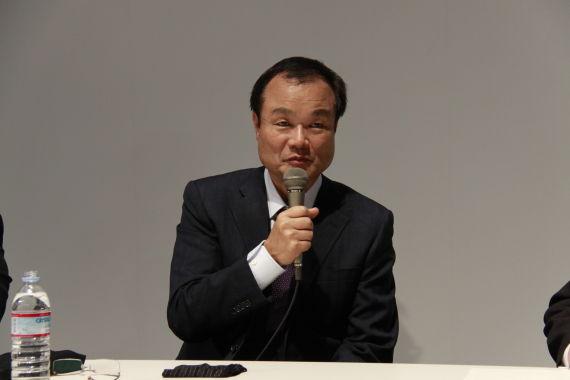 图为本田汽车社长伊东孝绅