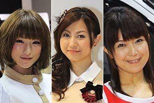 2011东京车展美女车模