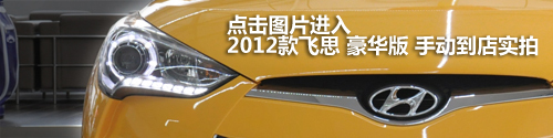 点击图片进入2012款飞思 豪华版 手动到店实拍