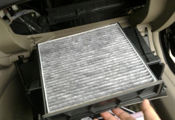 更换空调滤清器