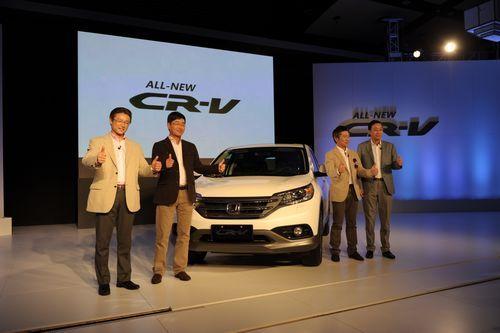 新CR-V上市发布会现场