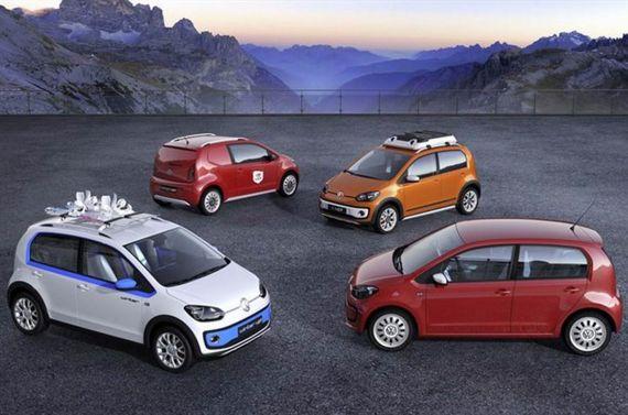 大众将在日内瓦车展发布四款Up概念车