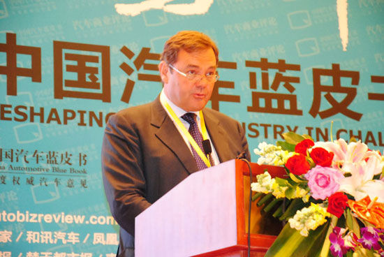 奥地利EFS汽车咨询公司总裁雷霆生先生