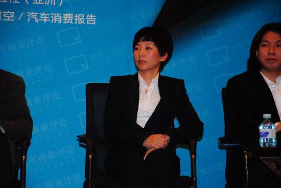 通用汽车中国前瞻设计中心设计总监乌琳高娃
