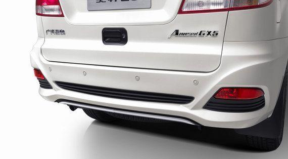 奥轩GX5尾部