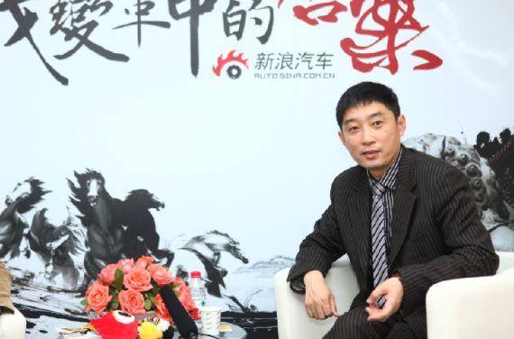 青年汽车集团副总裁黄志强接受新浪汽车专访