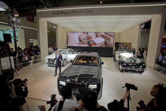 劳斯莱斯汽车2012北京车展现场 -1