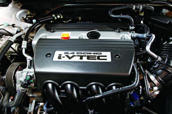 这台编号为k24y3的发动机与雅阁和cr-v采用的属于同一型号,但是调校略图片
