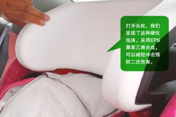头枕采用聚苯乙烯泡沫材料