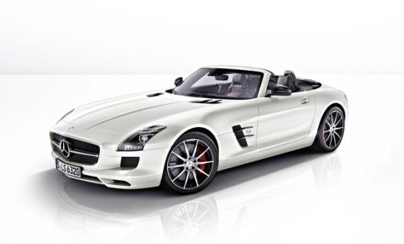 2013款奔驰SLS AMG GT将推出Coupe和敞篷版两种车身类型