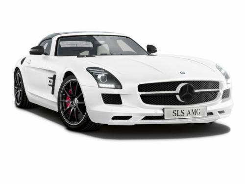 梅赛德斯-奔驰SLS AMG Matte白色版超跑