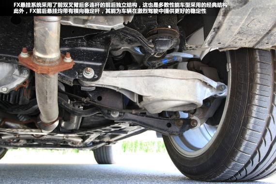 新浪汽车深度测试英菲尼迪FX35