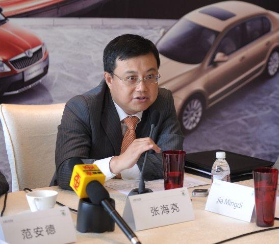 上海大众总经理张海亮