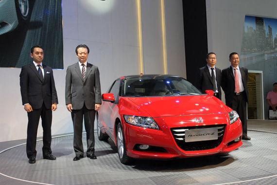 本田CR-Z于长春车展上市