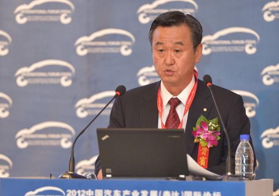 丰田汽车株式会社专务兼丰田汽车研发中心(中国)有限公司总经理 山科忠