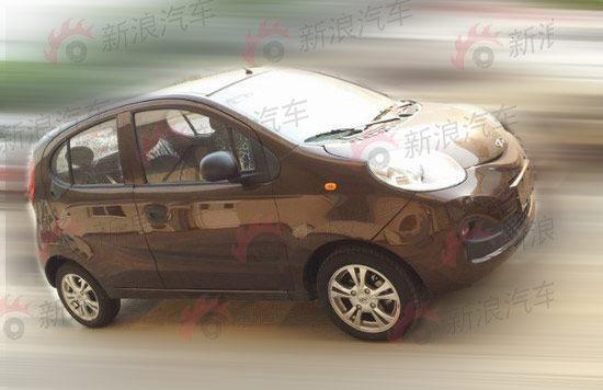 换代QQ无伪装车型