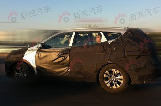 北京现代国产新胜达曝光 12月国产