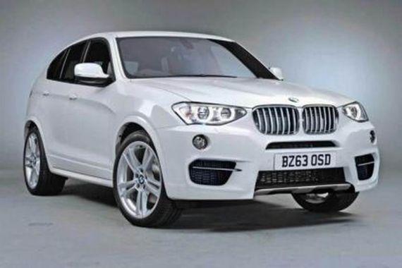宝马X4概念车将在北美车展首发