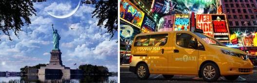 纽约和它的NISSANNV200出租车