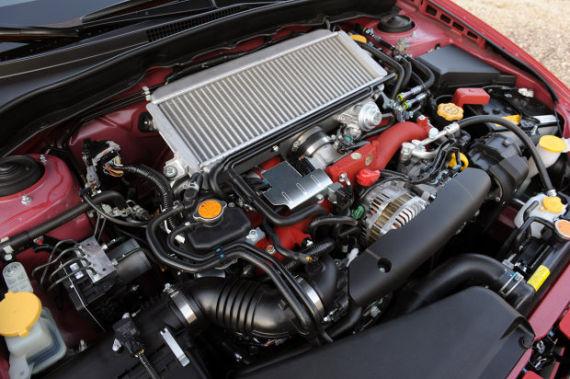 2011版斯巴鲁翼豹(SUBARU Impreza)WRX STI