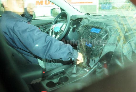 中期改款现代ix35将亮相法兰克福车展
