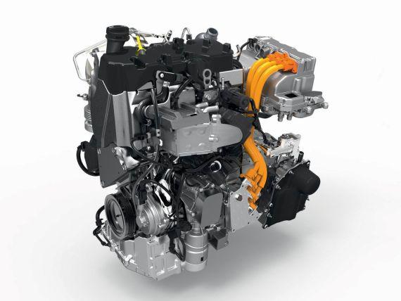 大众XL1发动机