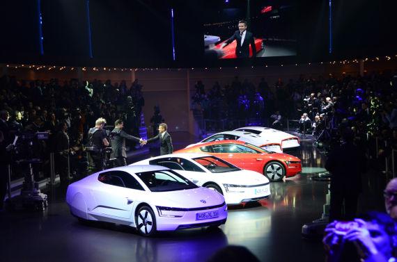 大众VW XL1