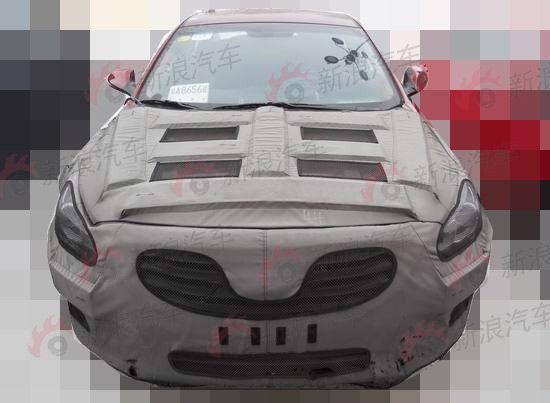 北京现代全新中级车CF重度伪装照