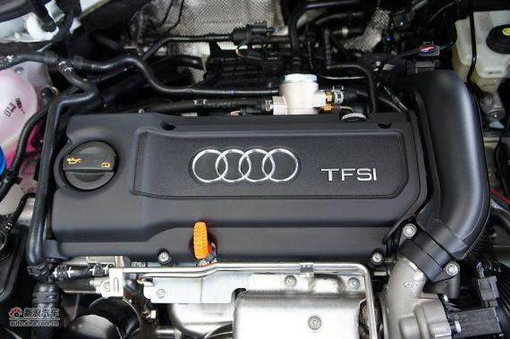 图为现款奥迪A3 1.4TFSI发动机