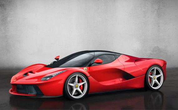 日内瓦车展上的法拉利(Ferrari)La Ferrari