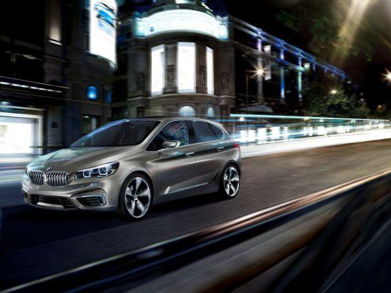 BMW Concept Active Tourer旅行概念车