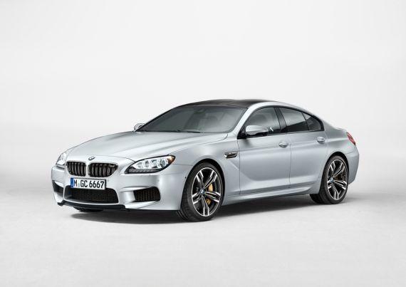 全新 BMW M6四门轿跑车外观