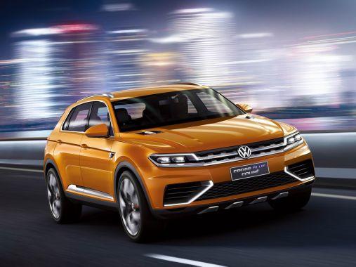 大众crossblue coupe概念车上海车展首发 _新浪汽车