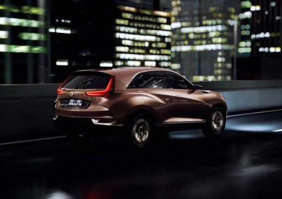 讴歌(Acura)SUV-X概念款