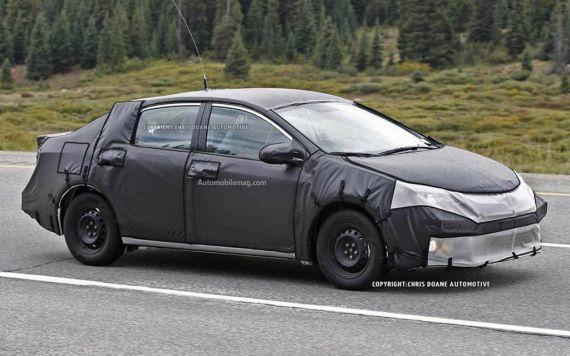2014款丰田Corolla最新谍照 将年内亮相