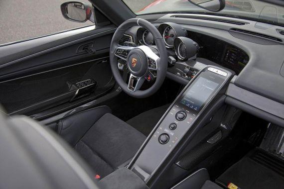 保时捷918 Spyder详情发布
